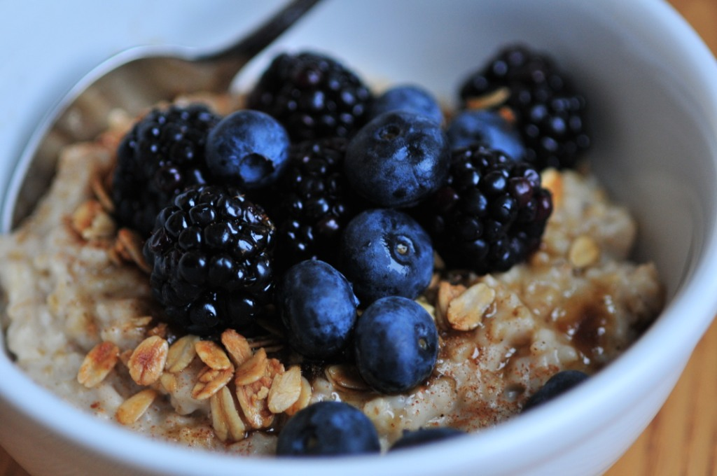 Oatmeal Worth Getting Out Of Bed For