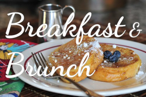 Recipes for breakfast and brunch