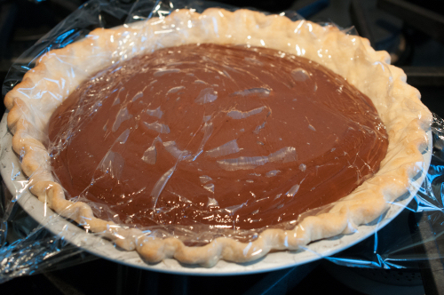 Chocolate Cream Pie - Covered