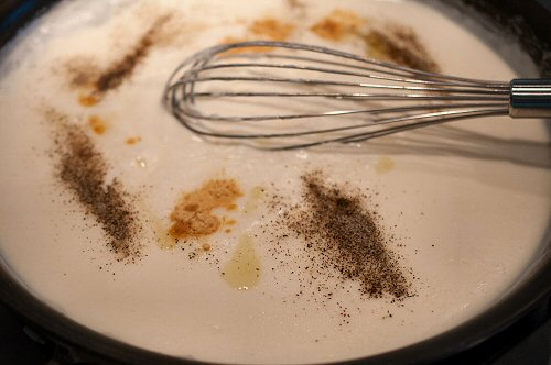 Adding Spices and Truffle Oil