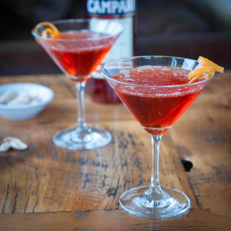 Negroni and Campari