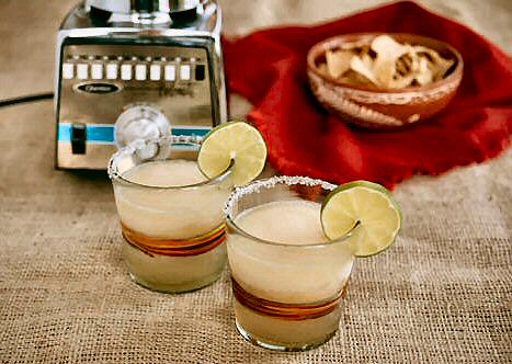 Blended Gold Margarita