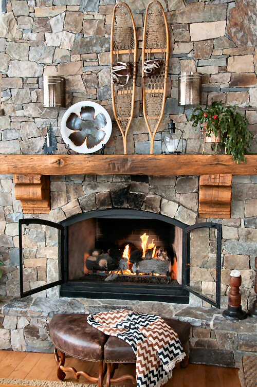 Après Ski Fireplace