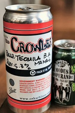 Oskar Blues Crowler - Back