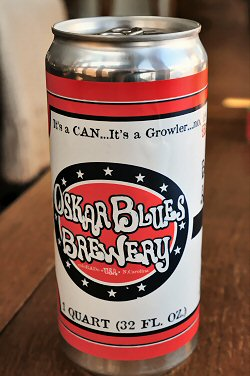 Oskar Blues Crowler - Front
