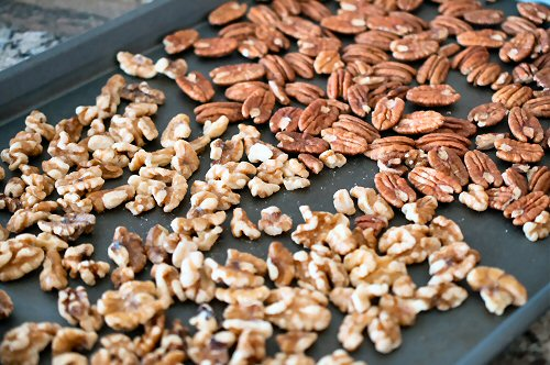 Roasting Walnuts and Pecans