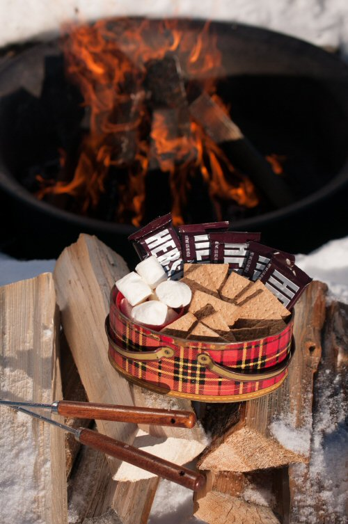 Smores at the Fire Pit