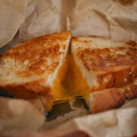 Grilled Cheese Close-up