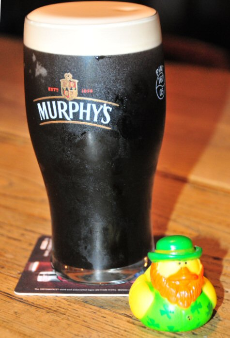 St Patty Duck with Murphy's