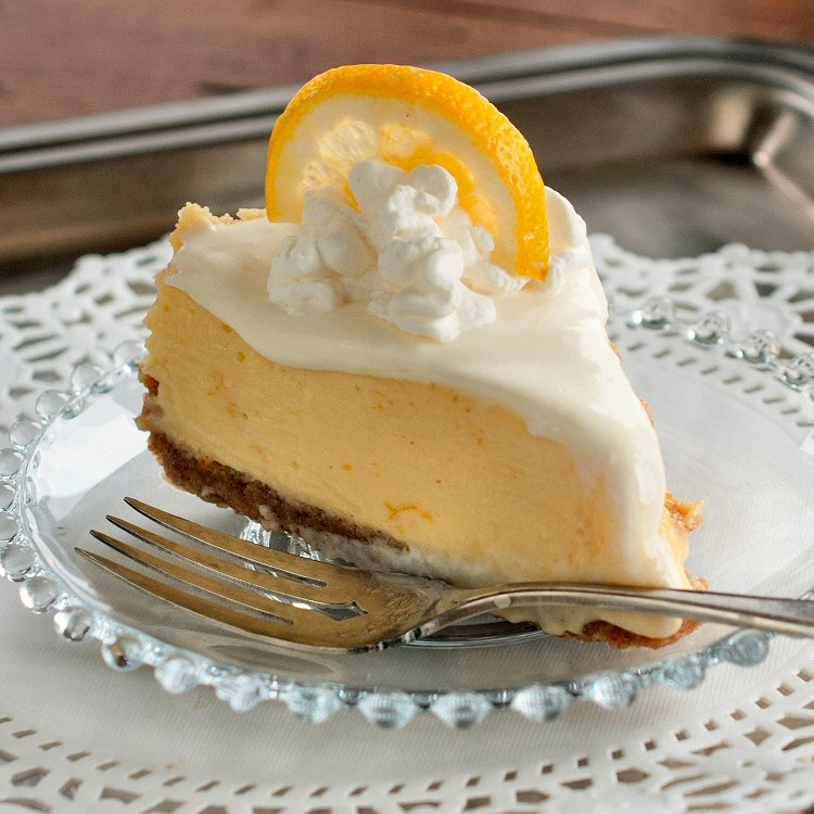 Lemon Icebox Pie Recipe - EntertainingCouple.com