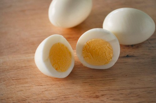 Sliced Eggs