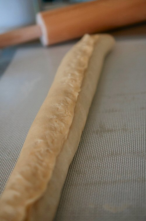 Dough Tightly Rolled