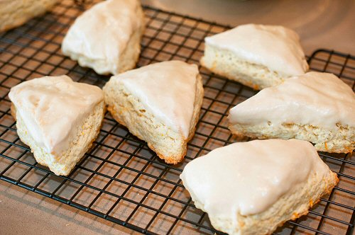 Glazed Scones