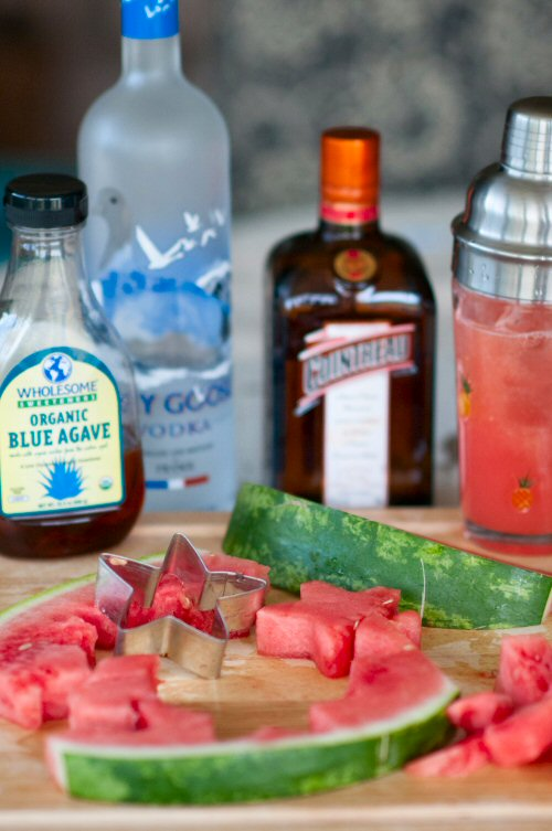 Watermelon Martini Ingredients
