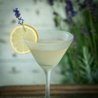 Lavender Martini