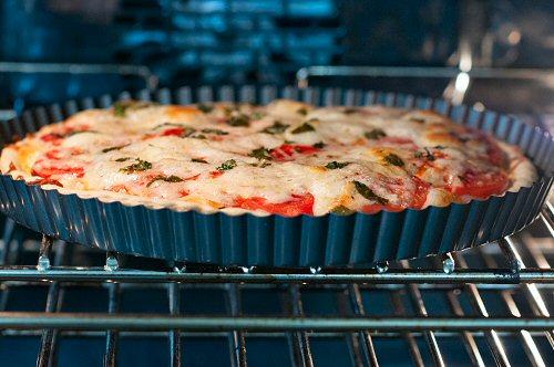 Tomato Tart Baking