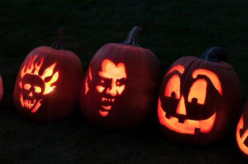 Scary Jack O' Lanterns