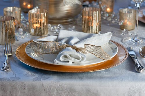 New Years Eve Placesetting