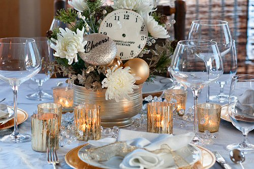 New Years Eve Table Setting
