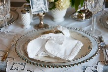 Mother's Day Brunch Placesetting