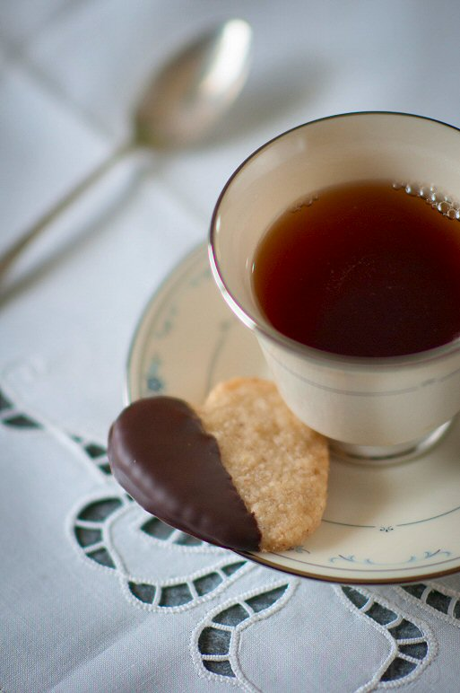 Tea and Shortbread Cookie