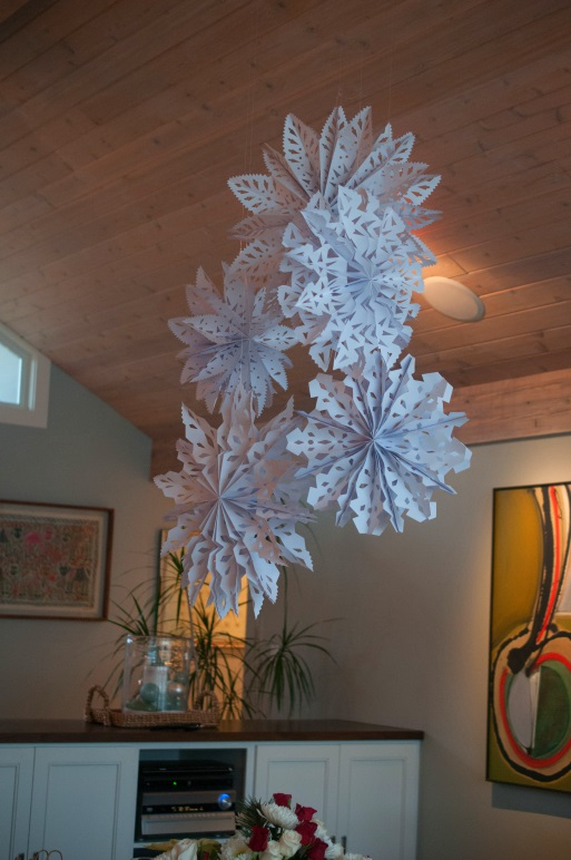 Snowflake Chandelier