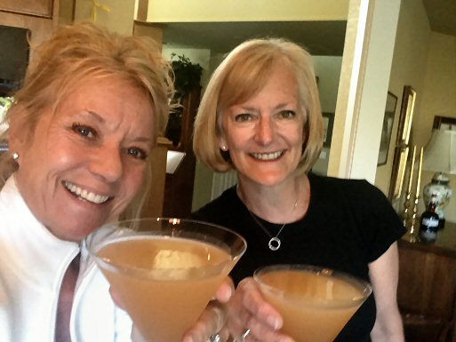 Debbie and Sheri