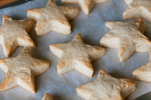 Baked Shortcake Biscuits