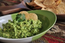 Guac and chips