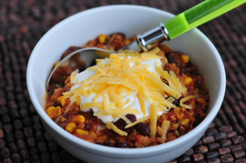 Beans in chili? There's no debating it