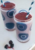Mango Blackberry Smoothies