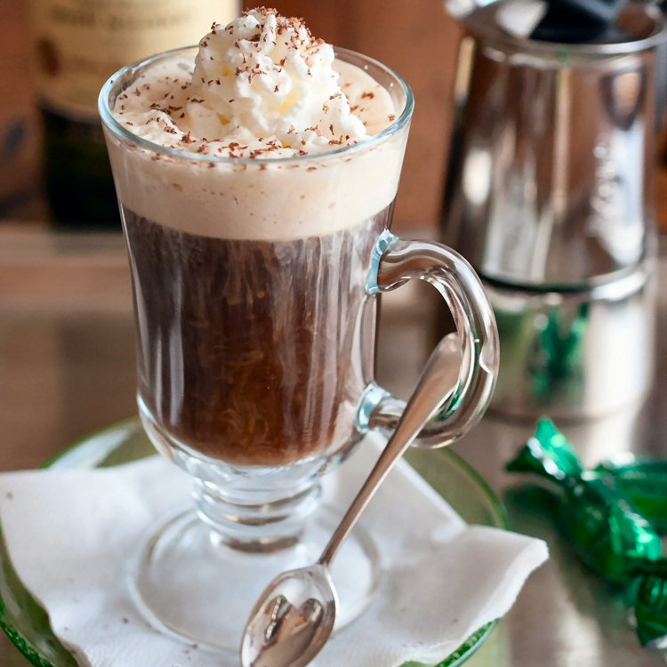 Top Off St. Patrick's Day With An Irish Coffee