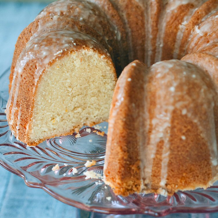 A Pound Cake Recipe Falls Flat.  Or Does It?