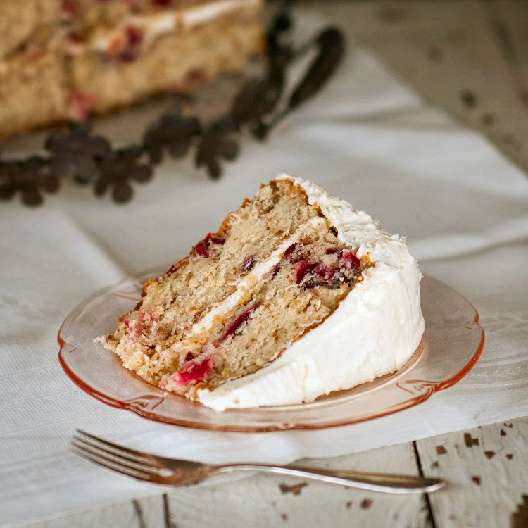 Cranberry Layer Cake – A Perfect Thanksgiving Dessert